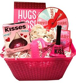 Date Night Gifts Basket- Date Night Baskets for Adults- Gift Basket for Couples Valentines, Anni ...