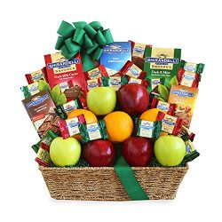 California Delicious Fruit and Ghirardelli Classic Gift Basket