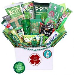 St. Paddy's Day Care Package – Great for College Students, Military Troops or to Wis ...