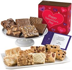 Fairytale Brownies Valentine Bar & Brownie Combo Gourmet Food Gift Basket Chocolate Box R ...