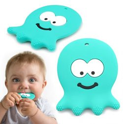 6 Month Old Baby Toys – Adorable Teething Octopus – Best Sensory Learning Teether Fo ...