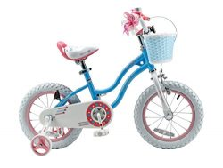 Royalbaby Stargirl Girl's Bike with Training Wheels and Basket, Perfect Gift for Kids. 16  ...