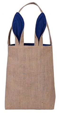 Easter Egg Hunt Basket Bag – Bunny Rabbit Ear Design – reusable baskets – kids ...