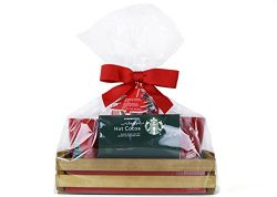 Starbucks Holiday Edition Coffee Mug Gift Basket With Hot Cocoa Set