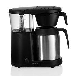 Bonavita Coffee Maker Machine – Drip Brewer, Stainless Steel Thermal Carafe, Flat Bottom Filter, ...