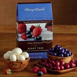 Milk Chocolate-Covered Berry Trio – Gift Baskets & Fruit Baskets – Harry and David