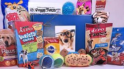 Jumbo Dog Gift Box Basket For Favorite Canine Fur Baby Perfect for Dog Lover Dog Birthday Christ ...