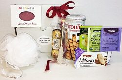 Unlocking Greatness You Are Simply Priceless Chocolate and Tea Spa Gift Basket