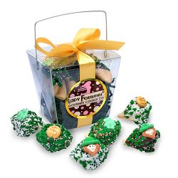 Luck 'o The Irish Take Out Pail of Fortune Cookies