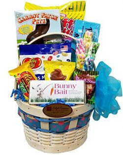 """Delight Expressions """"Bunny Bait"""" Easter Gift Basket (Small) – A Easter gift fo ..."""