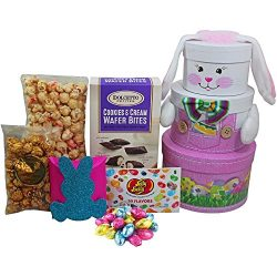 Somebunny Special Easter Bunny Gift Tower, Pink