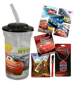 Disney Pixar Cars Fun Sip Favor Cup! Valentines Day Gift, Easter Basket Filler, Stocking Stuffer ...