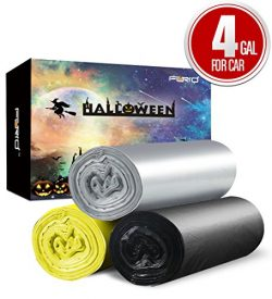 Small Trash Bags, 4 Gallon Garbage Bags Car Garbage Bags, Trash Can Liners for Car Garbage Colle ...