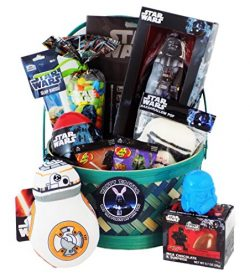 'Happy Easter May the Force Be with You' Star Wars Easter Gift Basket with a Darth V ...