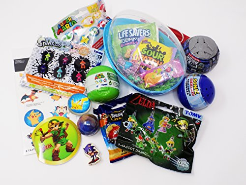 Video game themed candy and toy easter gift basket splatoon video game themed candy and toy easter gift basket splatoon pokemon mario sonic rocket league ze negle Gallery