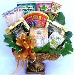 Welcome to the Neighborhood! Deluxe Beautiful Housewarming Gift Basket