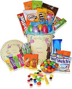 Ubaskets find share gift baskets for all occasionsubaskets easter basket tin 30ct premade kids boys girls filled negle Images