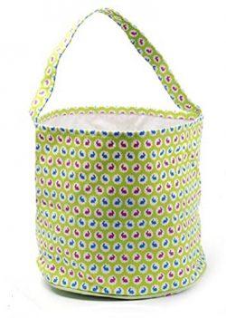 Easter Egg Hunt Basket Bag – childs reusable bucket baskets – kids party gift bags & ...