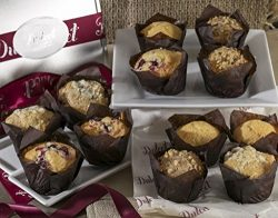Dulcet Muffins Gift Basket – Includes 4 Delectable Flavors: Cranberry, Corn, Blueberry and Banan ...