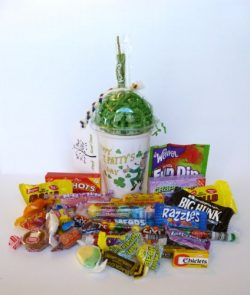 "Say It Candy Time Cup ""Happy St. Patrick's Day"""
