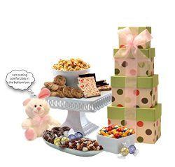 Broadway Basketeers Easter Basket with Gourmet Chocolate and Candy Gift Basket Assortment &#8211 ...