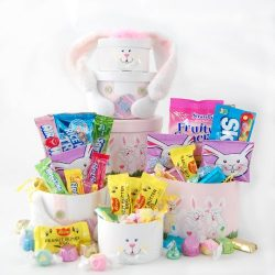 Happy Easter Bunny Treat Tower Gift