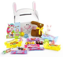 """Easter Gift Basket Variety Care Package Assortment """"Some Bunny Loves You"""""""