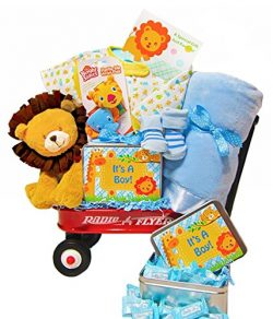 Jammin' in the Jungle | Welcome New Baby Gift Wagon (Boy)