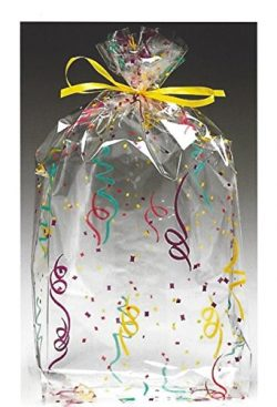 BnB Treat Bags Party Confetti Celebration Design for Holiday Birthday or New Year's Eve Wedding  ...
