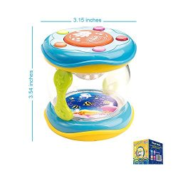 First Drum. Battery Operated Music With Features for Learning and Entertainment for Your Baby an ...