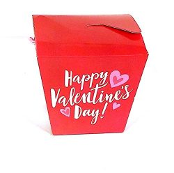 Special Red MARS Take Out Box for Kids – Gift basket includes Chocolate assortment candies ...