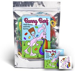 Bunny Barf – Rainbow Lace Licorice – Funny Easter Basket Gag Birthday Girl, Boy and  ...