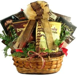 Coffee and Chocolates! Gourmet Coffee and Chocolates Gift Basket -Great for Valentine's Day!