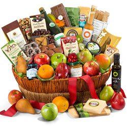 Golden State Fruit Motherlode Grand Fruit and Gourmet Gift Basket