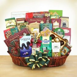 The Delightful Gourmet Gift Basket