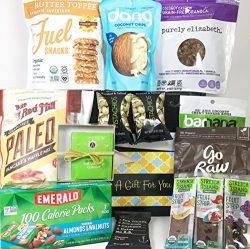 Paleo Gift Box Basket – Almost 4 Pounds of Healthful Snacking! – For Birthday, Colle ...