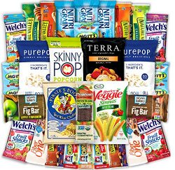 Canopy Snacks – Healthy Snacks Care Package – Variety Snack Box Gift Pack – Assortment of  ...