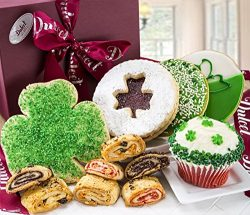 St. Patricks Signature Gift Box Gourmet with Cookies and Treats