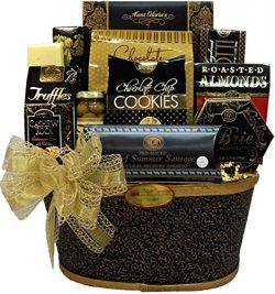Delight Expressions™ Thoughtful Wishes Gourmet Food Gift Basket – Holiday Christmas Gift B ...