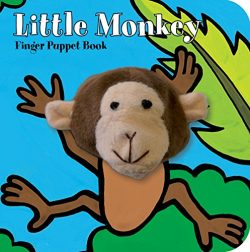 Little Monkey: Finger Puppet Book (Little Finger Puppet Board Books)