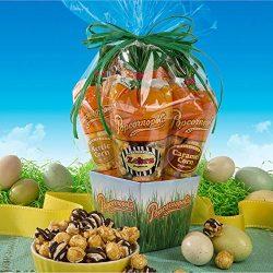 Popcornopolis Mini 5-cone Variety Popcorn Spring Easter Gift Basket