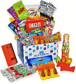 Easter Care Package (40 Count) – Filled with Candy, Egg Chocolates, Cookies and More.Perfe ...