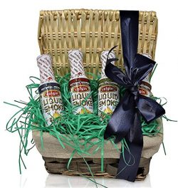 Colgin Assorted Liquid Smoke Gift Basket – Thinking of You – Gift Basket for Special ...