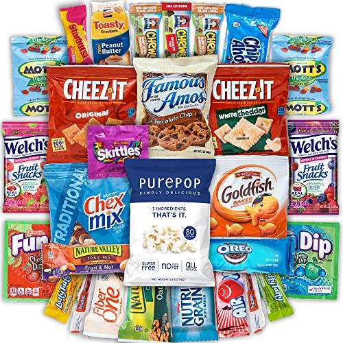 Canopy Snacks – Classic Snacks Care Package – Variety Snack Box Gift Pack – Assortment Bun