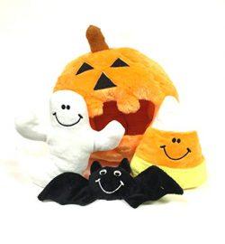 Pumpkin Find a Toy Halloween Dog Toy by Midlee