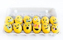 Easter Emoji Eggs   Pack of 48