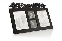 Baby Handprint and Footprint Kit + Frame – Unique Keepsake Gifts for Boy or Girl