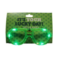 st. patrick's day Irish Parade Accessories – Variations – (Light Up Glasses)