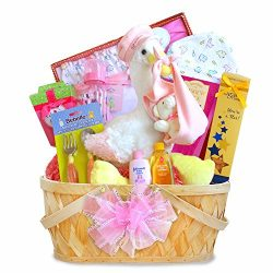 California Delicious Gift Basket, Special Stork Delivery Baby Girl