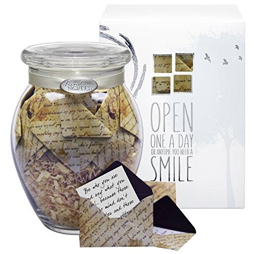 glass kindnotes sympathy keepsake gift jar of messages for